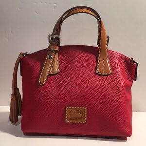 Dooney & Burke Red Trina Satchel